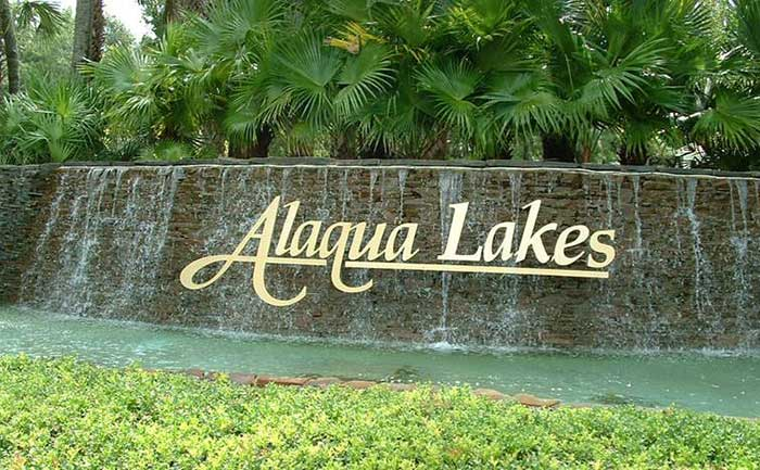 View of Alaqua Lakes