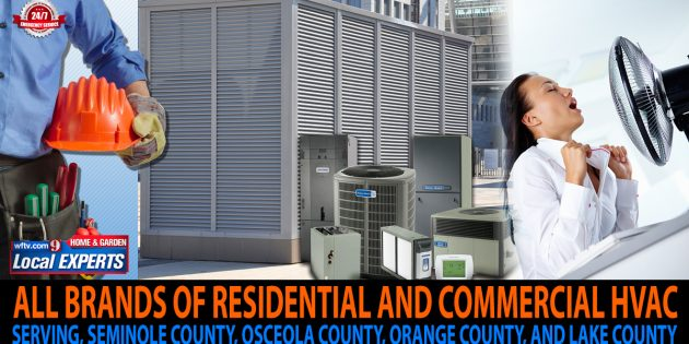 All brands of residential and commercial HVAC services